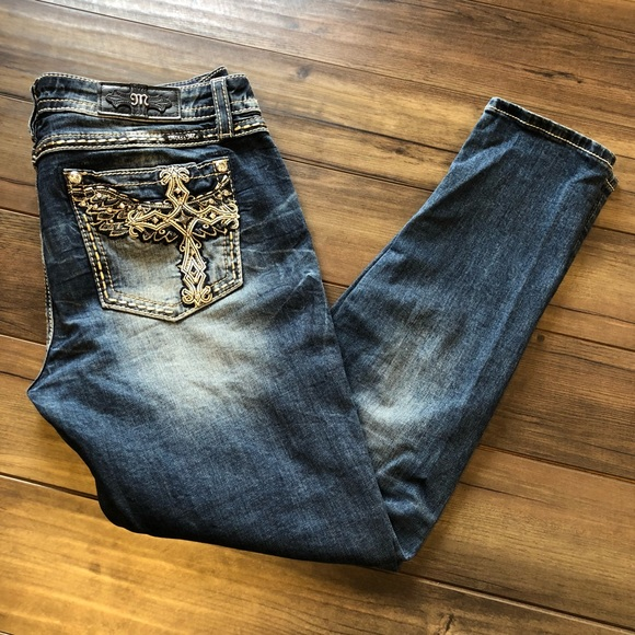 eaf9b41fdb21c Miss Me Hailey Skinny Jeans. M 5be35cef12cd4acaf1c96788